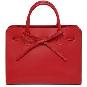 MANSUR GAVRIEL Red Calf Mini Sun Bag